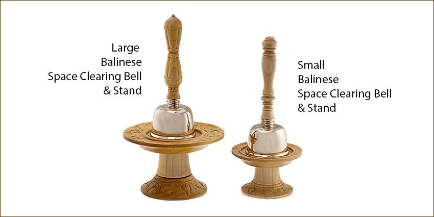 Balinese space clearing bells